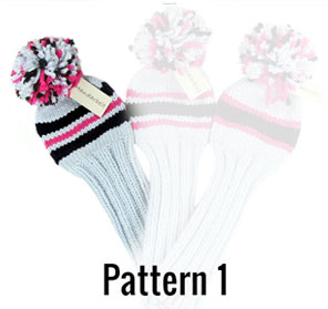Create your golf headcover in pattern 1