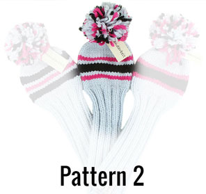 Create your golf headcover in pattern 2
